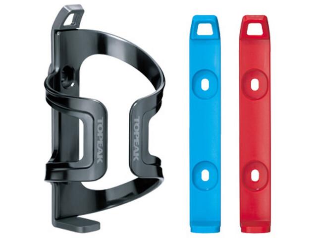 Topeak DualSide EX Bottle Holder grey/red/blue